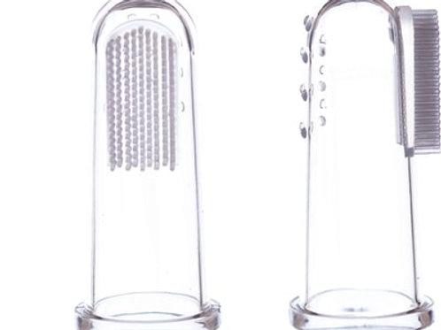 Jack 'N' Jill - Spazzolino da dito in silicone 2 pezzi -Fase 1