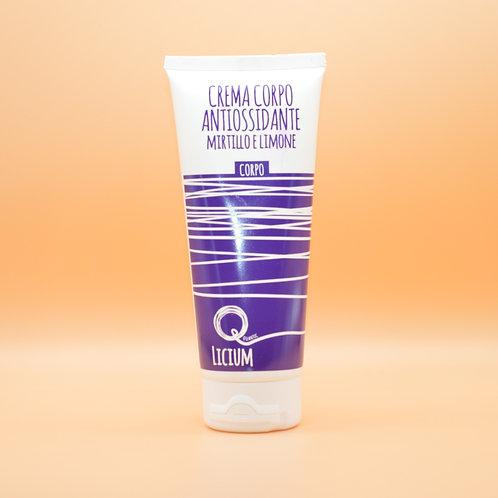 Quantic Licium - Crema Corpo Antiossidate Mirtillo e Limone