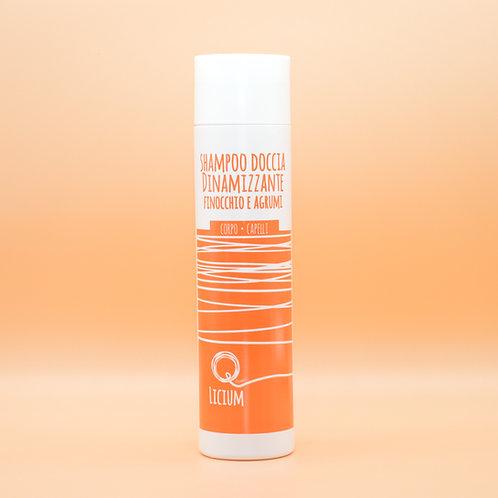 Quantic Licium - Shampoo Doccia Dinamizzante Finocchio e Agrumi