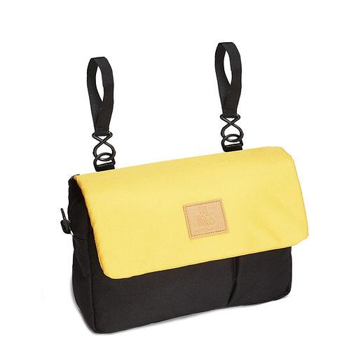 My Bag's - Organizer Eco Recycled (giallo/nero)