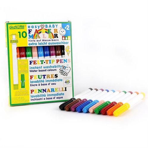 OkoNorm – Set 10 pennarelli colorati