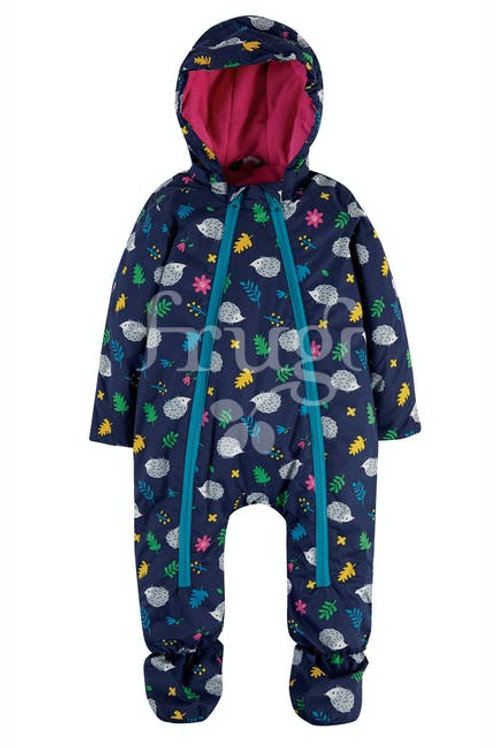 """Frugi - Explorer waterproof """"All in One suit"""" Hedgehogs"""
