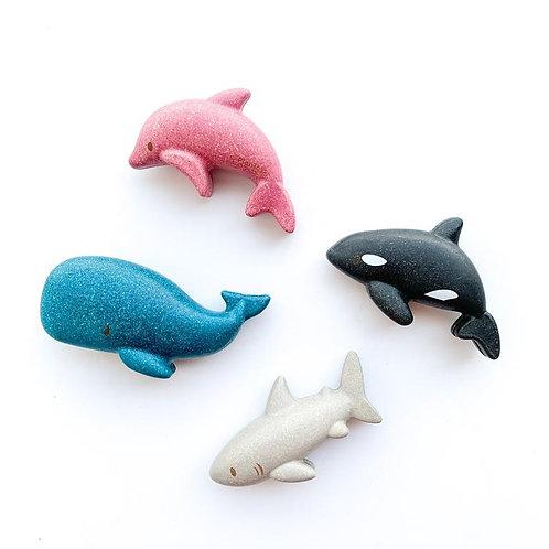 Plan Toys - Gli animali del mare