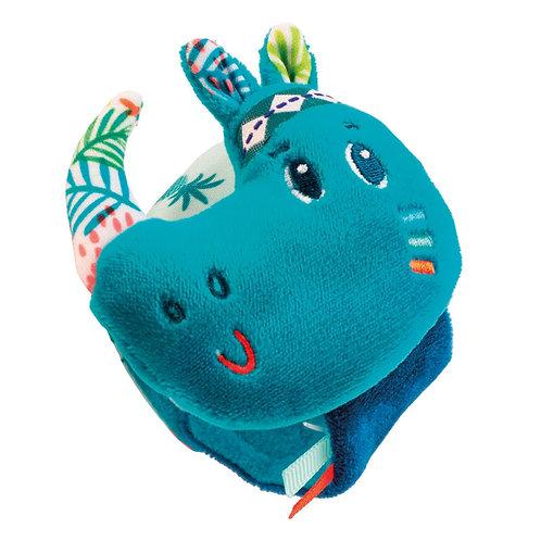 """Lilliputiens - Sonaglino da polso """"Rinoceronte"""""""