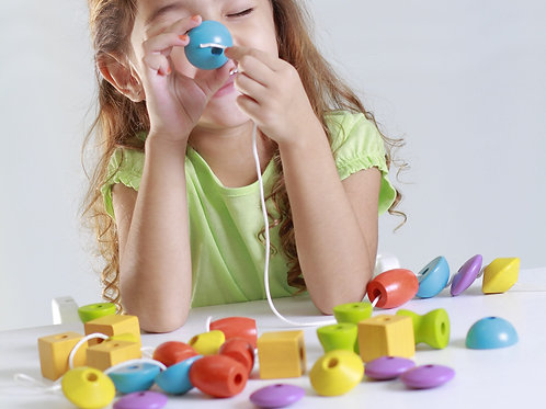 Plan Toys - Perle da infilare