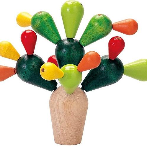 Plan Toys - Cactus, gioco di equilibrio