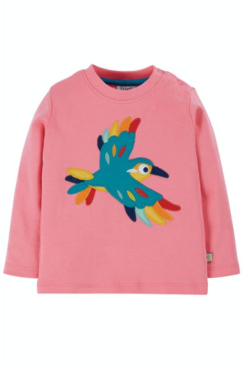 Frugi - Little Discovery Applique Top