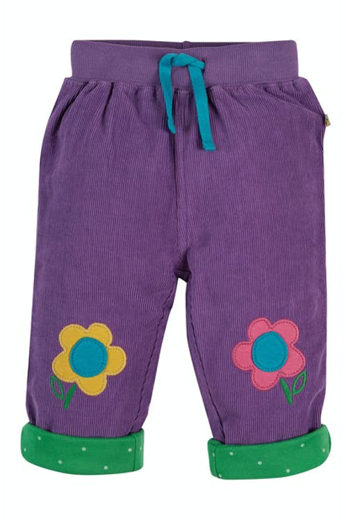 Frugi - Little Cord Patch Trousers