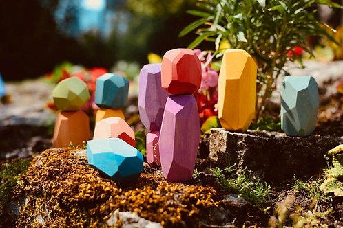 Ocamora -Gemme arcobaleno - 12 pezzi