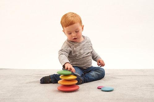 Tickit - Bottoni arcobaleno da impilare