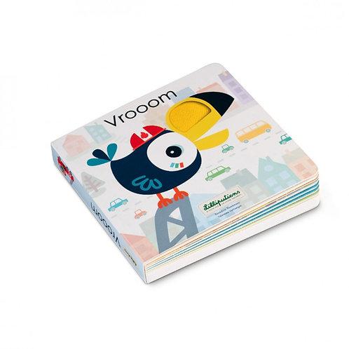 """Lilliputiens - Libro tattile e sonoro """"Vrooom"""""""