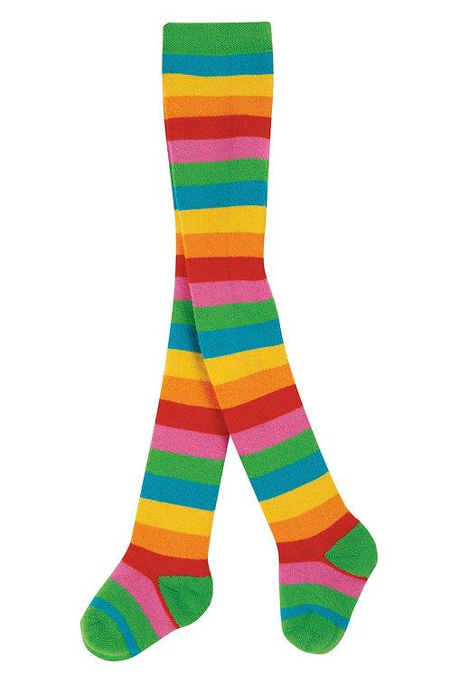Frugi - Toasty tights rainbow