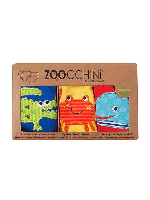 Zoocchini - Mutandine trainer - da apprendimento - pack da 3