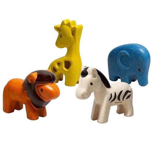 Plan Toys - Gli animali della giungla