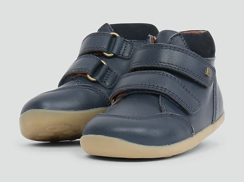 "Bobux - Step up "" Timber"" navy"