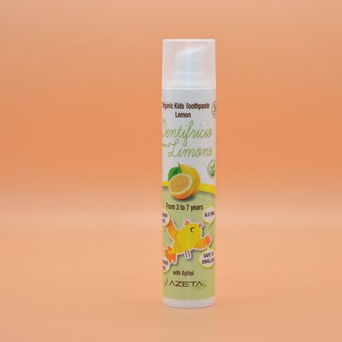Azeta Bio - Dentifricio Baby Aroma di Limone