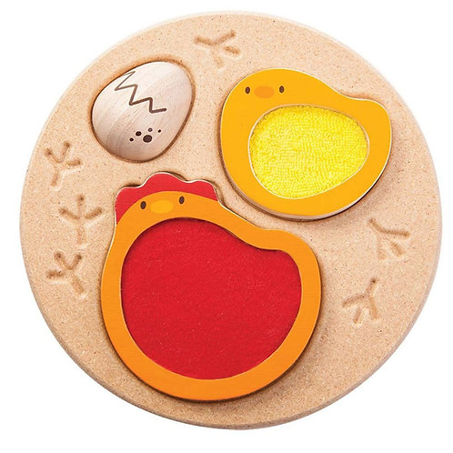 Plan Toys - Chicken Puzzle