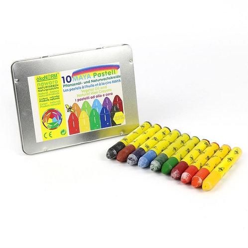 OkoNorm – Set 10 pastelli di cera