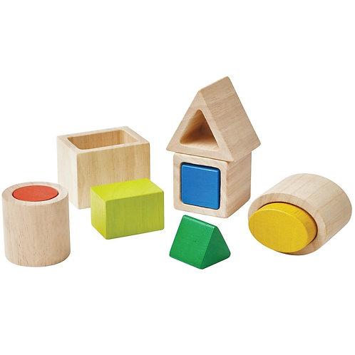 Plan Toys - Forme geometriche da incastrare