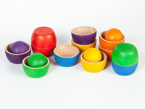 Grapat - Bowls & Balls - Ciotole e palline arcobaleno
