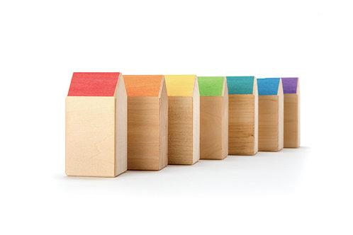 Ocamora - 7 case arcobaleno