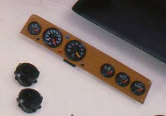PL30/F4 Instrument Panel Carbon Fibre (Blank)