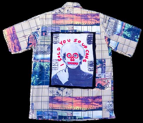 Upcycled Carlo Colucci Shirt