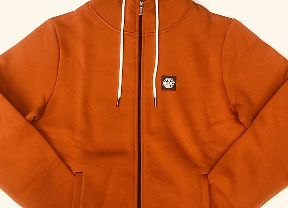 Mineral Burnt Orange Hoodie