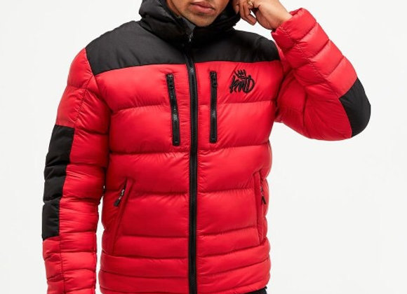 KINGS WILL DREAM boden puffer jacket RED