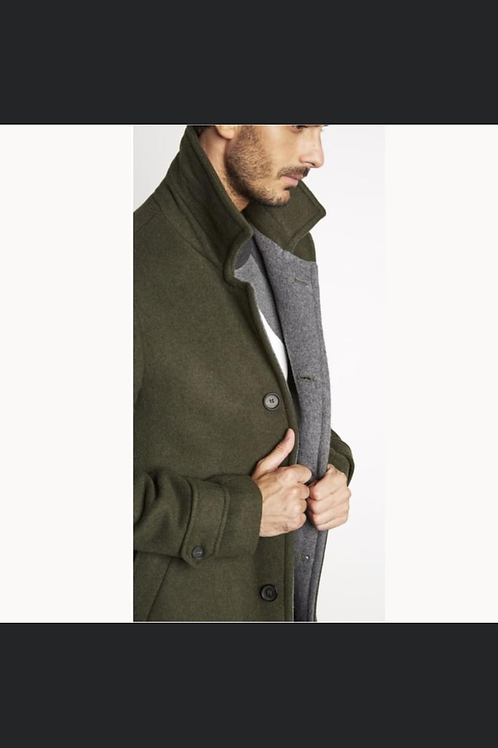 DOUBLE COAT WITH COLOR CONTRAST
