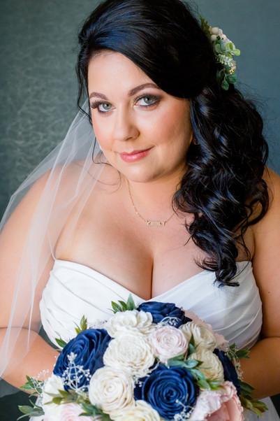 bridal protriat, natural light, wedding,