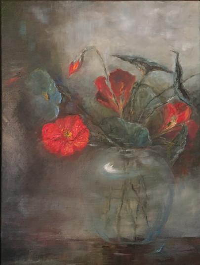 Studie av blomst. Solgt