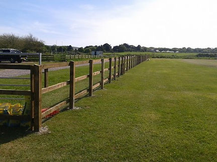 fencing installed on the isle of wight