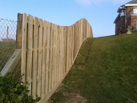 boundary fencing photo
