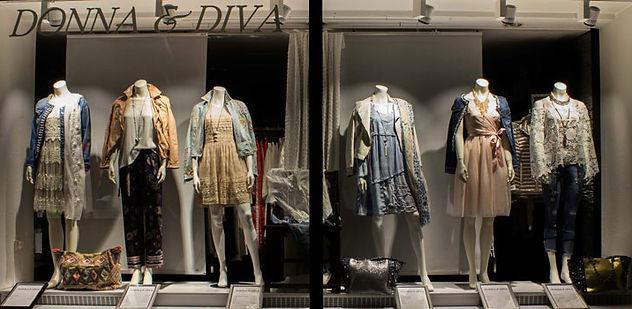 Schaufenster Donna & Diva