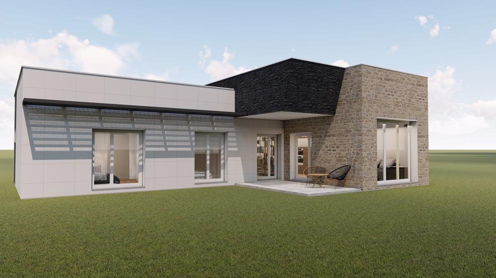 casa moderna pasiva modelo arian de 140 m2 14 m2 porches