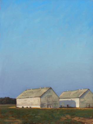 #51 - Two Tobacco Barns