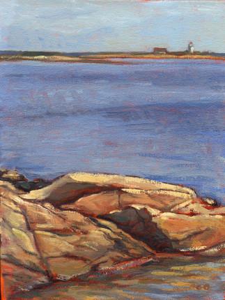 Cape Porpoise Rock