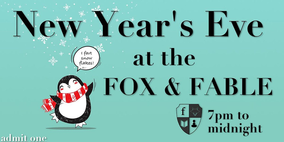 New Year's Eve at the Fox & Fable