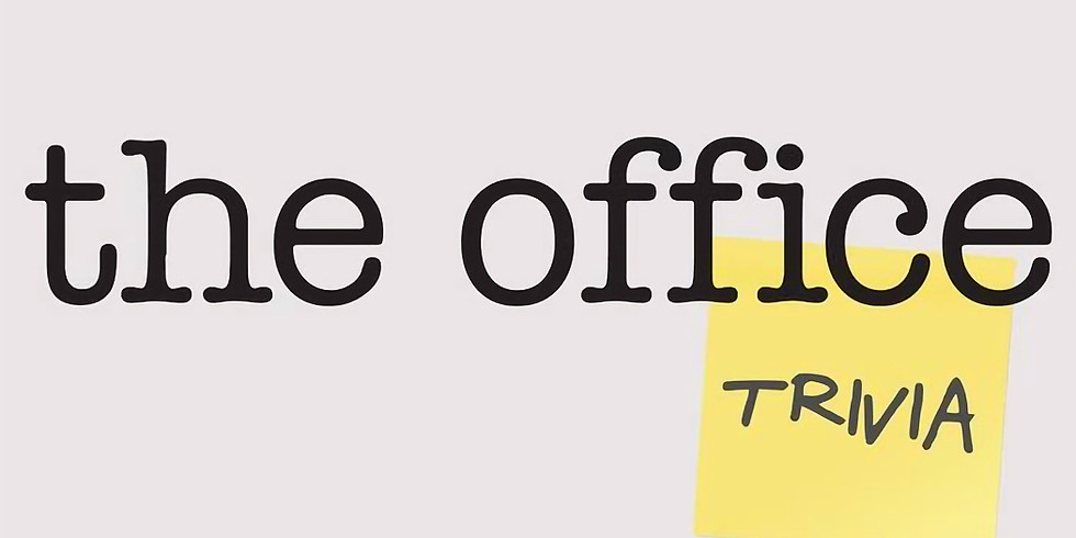 The Office trivia night! Seasons 1-4