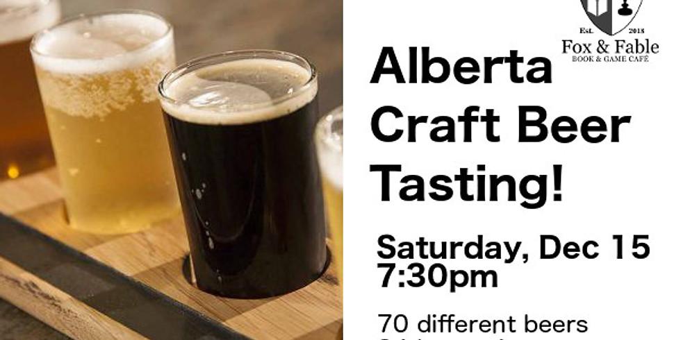 Alberta Craft Beer Tasting