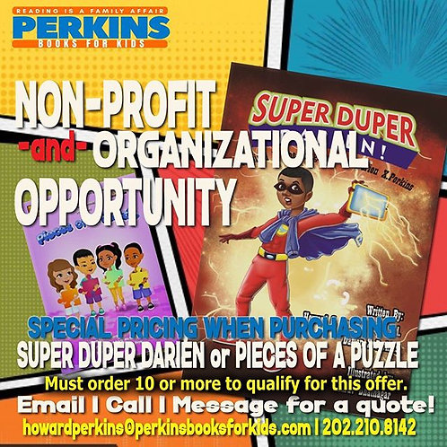 NON PROFIT and ORGANIZATIONAL WHOLESALE