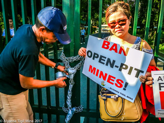 Envi group rejects lifting ban on open-pit mining