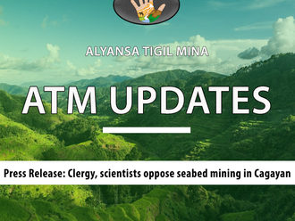 Press Release: Clergy, scientists oppose seabed mining in Cagayan