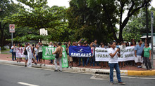 Environment activists call Pres. Duterte to act against destructive mining, storm Malacañang