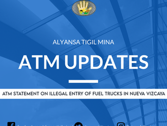 ATM Statement on illegal entry of fuel trucks in Nueva Vizcaya