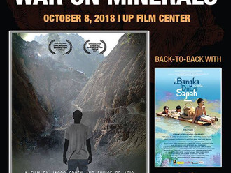War on Minerals (October 8, 2018 at UP Film Center)
