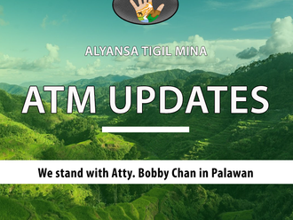 ATM Statement: We stand with Atty. Bobby Chan in Palawan