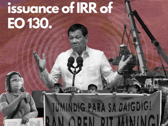 ATM reaction on issuance of IRR of EO 130