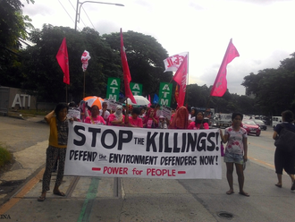 ATM Press Release: Defend Environmental Activists: The Philippine Climate Crisis
